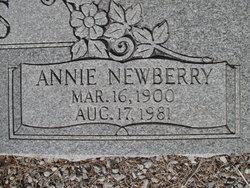 Annie Ozella <i>Newberry</i> Baccus