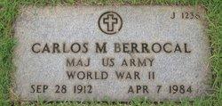 Maj Carlos M Berrocal