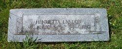 Henrietta Landon