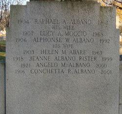 Alphonse W Albano
