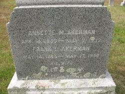 Annette Mary Akerman