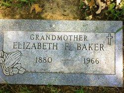Elizabeth (Lizzie) <i>Taylor</i> Baker