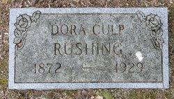 Dora <i>Culp</i> Rushing