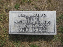 Bess Jane <i>Graham</i> Burton