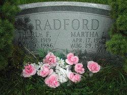Martha <i>Collier</i> Radford