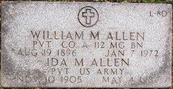 Pvt Ida M. Allen