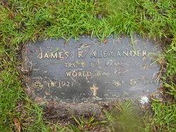 Jimmie R Alexander
