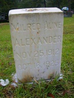 Mildred Aline Alexander