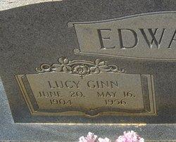 Lucy <i>Ginn</i> Edwards
