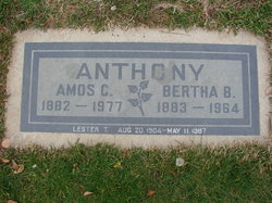 Bertha B Anthony