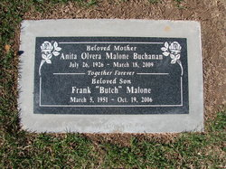 Anita Olvera Malone Buchanan