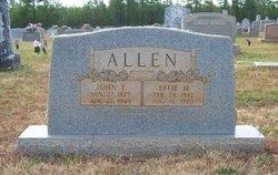 Effie May <i>Dorsey</i> Allen