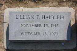 Lillian Marie <i>Fitzpatrick</i> Halbleib