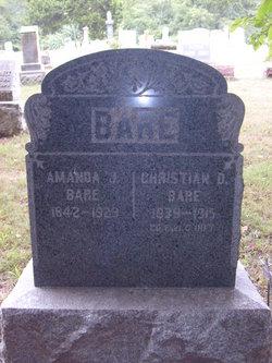 Amanda J Bare
