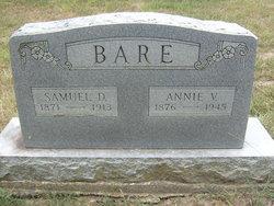 Mrs Annie Viola <i>Davidson</i> Bare
