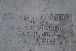 Regina Wilhelmina <i>Kempson</i> Brandenburg