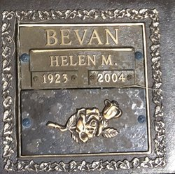 Helen M. Bevan