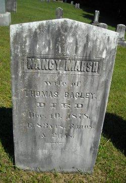 Nancy <i>Marsh</i> Bagley