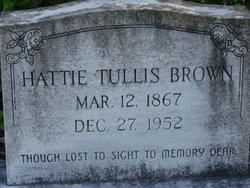 Hattie <i>Tullis</i> Brown