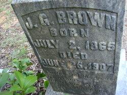 J G Brown
