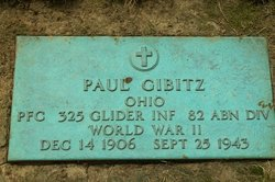 PFC Paul Gibitz