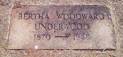 Bertha <i>Woodward</i> Underwood
