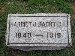 Harriet Josephine <i>Harbaugh</i> Bachtell