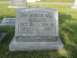 Ann Morton <i>Baez</i> Agelasto