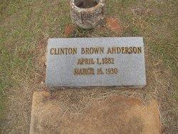 Clinton Brown Anderson