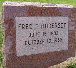 Fred T Anderson
