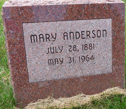 Mary <i>Petersen</i> Anderson