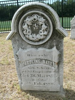 Caroline <i>Schein</i> Bayer