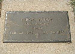 LeRoy Adler