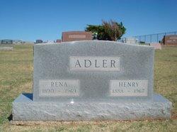 Rena <i>Kissler</i> Adler