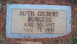 Emma Ruth <i>Gilbert</i> Burgess
