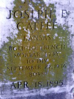 Joseph Elmer Caffee