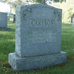 Mabel Louise <i>Garfield</i> Carlson