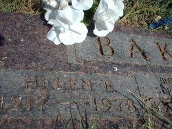 Helen E Baker