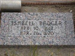 Isabella <i>Burt</i> Badger