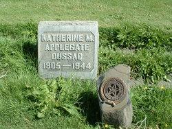 Katherine M <i>Applegate</i> Dussaq