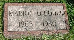 Marion O <i>Wolf</i> Loder