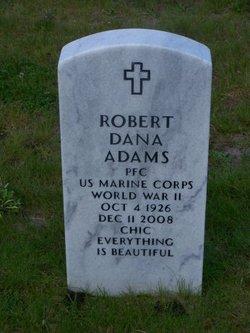 PFC Robert Dana Adams