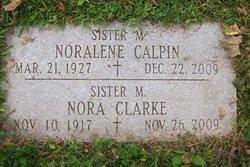 Sr M. Nora Clarke