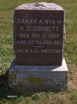 Sarah Ann <i>Whetstone</i> Dorsett