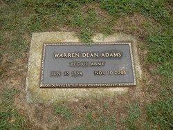 Warren Dean Adams