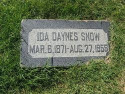 Ida Maud <i>Daynes</i> Snow