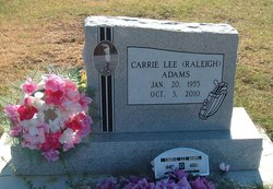 Carrie Lee <i>Raleigh</i> Adams