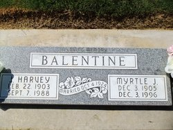 Myrtle Jewel <i>Parker</i> Balentine