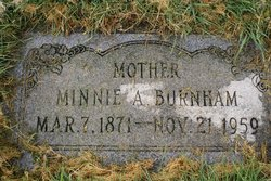 Minnie Amelia <i>Hatch</i> Burnham