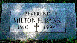 Rev Milton Harold Bank